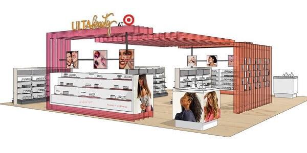 Trải nghiệm mua hàng của Ulta Beauty tại Target Corporation