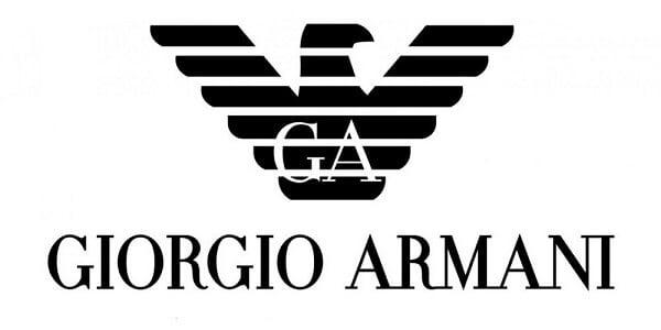Logo thương hiệu thời trang Giorgio Armani