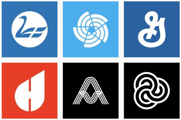 Ý tưởng thiết kế logo từ @logoseum