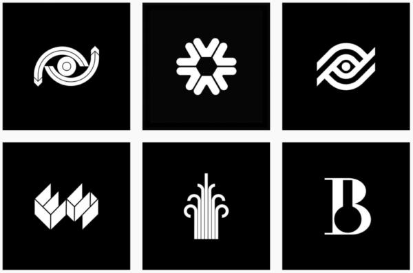 Ý tưởng thiết kế logo từ @logoarchive