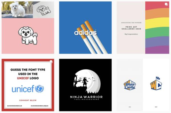 Ý tưởng thiết kế logo từ @logodesignersclub