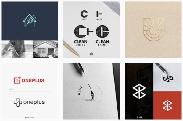 Ý tưởng thiết kế logo từ @logolemon