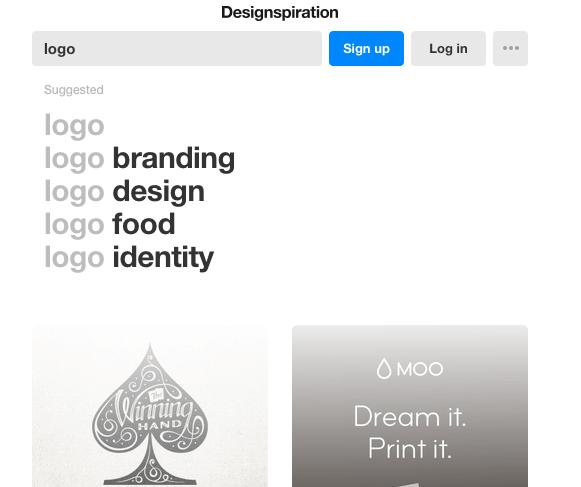 Ý tưởng thiết kế logo từ Designspiration