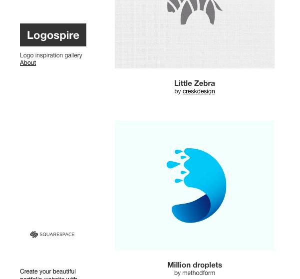 Ý tưởng thiết kế logo từ Logospire