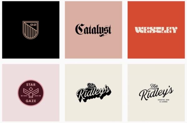 Ý tưởng thiết kế logo từ @bmnicks