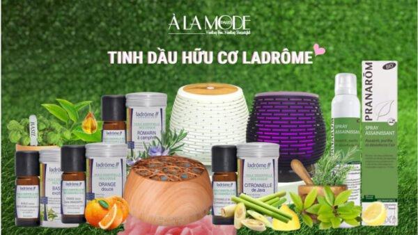 Tinh dầu hữu cơ Ladrome - thương hiệu tinh dầu việt nam