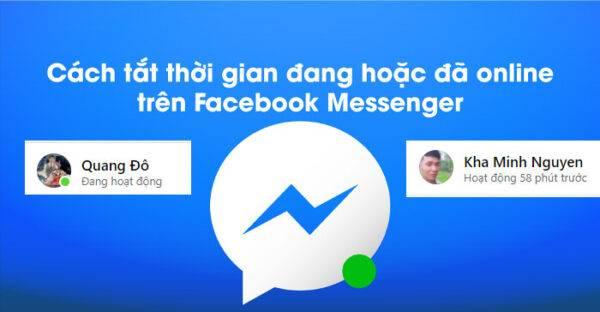 Cách ẩn thời gian truy cập trên Messenger đơn giản