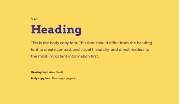 Cặp chữ #6: Tiêu đề dùng Slab + Nội dung dùng font sans-serif | Ảnh 1