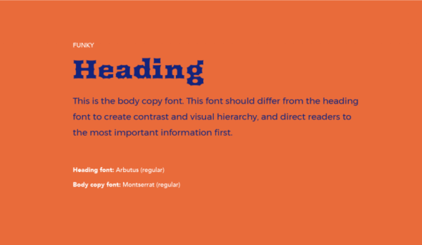 Cặp chữ #7: Tiêu đề dùng chữ funky + Nội dung dùng font sans-serif | Ảnh 1