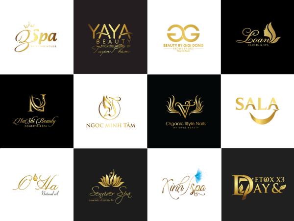 Mẫu thiết kế logo spa đẹp 2021 ấn tượng