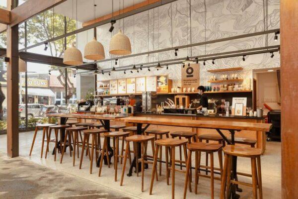 Một góc không gian tại The Coffee House ở Cao Thắng