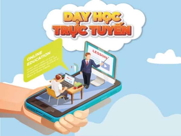 Dạy học trực tuyến cho giảng viên kiếm tiền mùa dịch